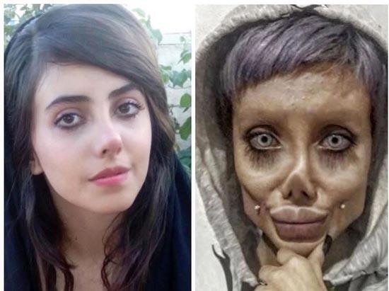 سحر تبر در زندان کرونا گرفت (عکس)