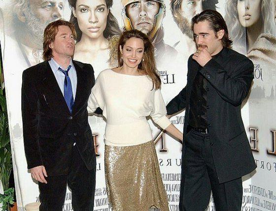 عشق شدید بازیگر پولدار هالیوودی به آنجلینا جولی (عکس)