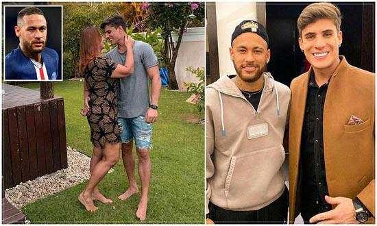 طلاق مادر نیمار و شوهر جوانش بخاطر همجنسگرایی (عکس)
