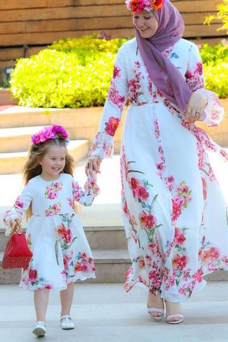 مدلهای جدید پیراهن ست مادر و دختری