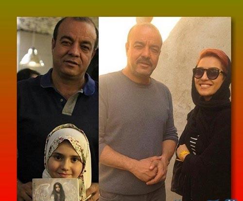 بیوگرافی و عکس سعید آقا خانی و همسرش