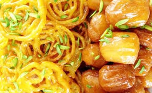 طرز تهیه زولبیا و بامیه در خانه با نکات