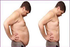 روش درمان شکم افتاده و شل