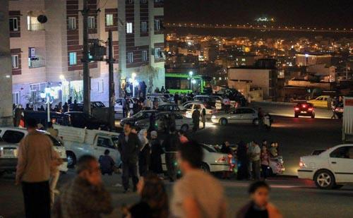 عکسهای زلزله تهران و آخرین آمار تلفات و خسارات زلزله تهران