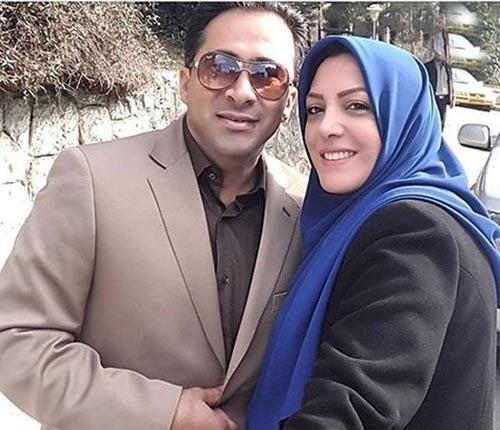 حرف خنده دار گوینده شبکه خبر با شوهرش روی آنتن زنده بعد از زلزله