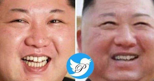 بدل کیم جونگ اون رهبر کره شمالی لو رفت (عکس)