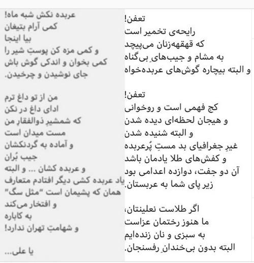 دعوای شدید محسن چاوشی و مهشید همسر ابی حامدی (عکس)