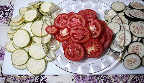 طرز تهیه غذای فرانسوی و گیاهی راتاتوئی