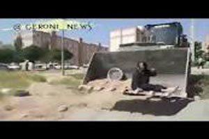 مرگ پیرزن کرمانشاهی بخاطر حمله ماموران شهرداری و تخریب خانه اش (فیلم)