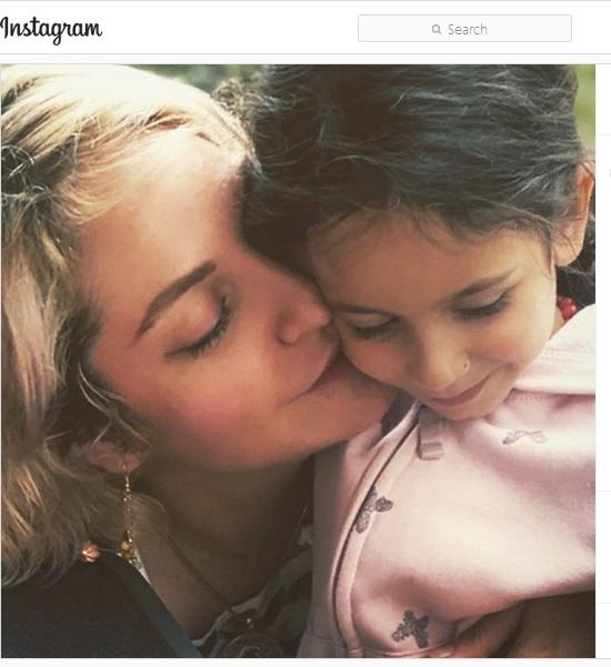 عکس زیبا و جدید مهناز افشار و دخترش لیانا