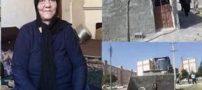 فیلم واکنش مجری تلویزیون به تخریب آلونک آسیه پناهی و فوت وی