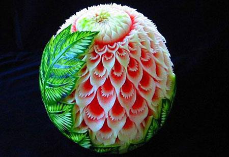 مدلهای لاکچری طراحي و تزئين هندوانه