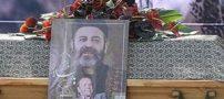 تصاویر تشییع جنازه محمد علی کشاورز پدرسالار سینمای ایران