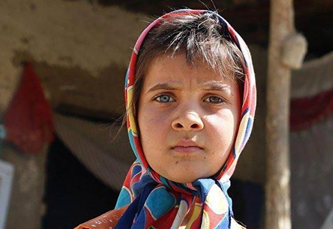 چشمهای خاص دختر ایلامی زیبا ( عکس)