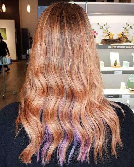 جذابترین رنگ های موی رزگلد (عکس)