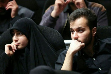 عکس شوهر و پدر شوهر زینب دختر سردار سلیمانی