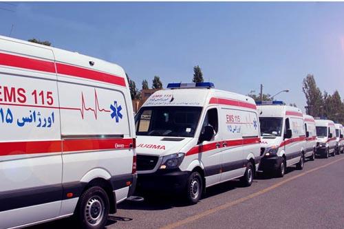 انتقال زن 400 کیلویی گیلانی به بیمارستان (عکس)