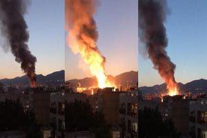 تصاویر آتش سوزی و انفجار کلینیک سینا و اسامی کشته شدگان