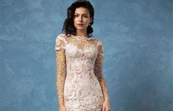 جدیدترین مدل های لباس عروس ایتالیایی (عکس)