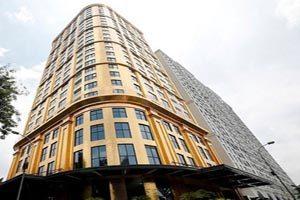 هتلی که با طلا ساخته شده است