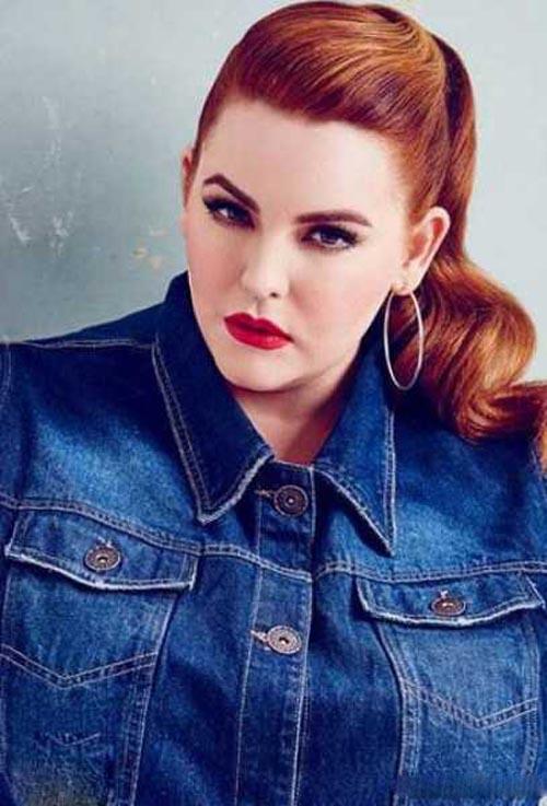 خانم مانکن زیبای چاق و محبوب با 130 کیلوگرم وزن