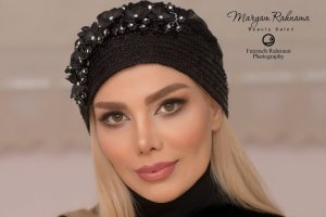 عکس های مدلینگ آرزو غفوریان همسر مهران غفوریان