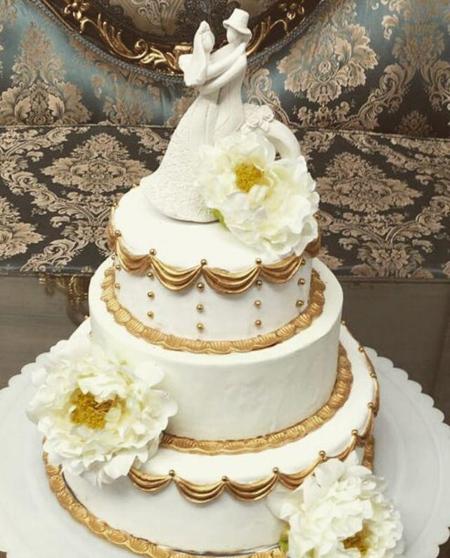 مدلهای شیک کیک نامزدی و کیک عروسی