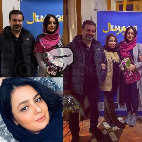 تکذیب ازدواج پیمان قاسمخانی با میترا ابراهیمی (عکس)