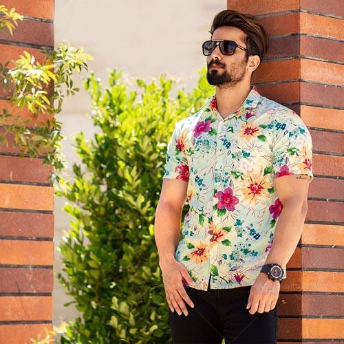 جدیدترین مدل پیراهن هاوایی مردانه مد امسال