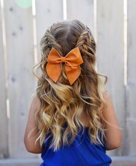 جدیدترین روشهای شینیون باز و مدلهای زیبای بستن موی دختر بچه ها