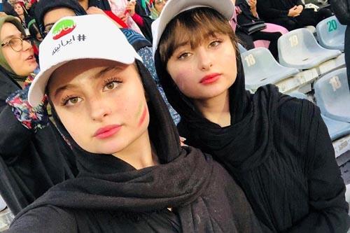واکنش سارا و نیکا به انتشار عکسهای لختشان در استخر (عکس)