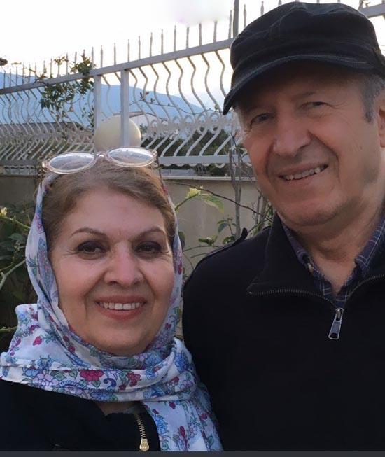 عکس بی حجاب مادر نیکی کریمی پخش شد (عکس)
