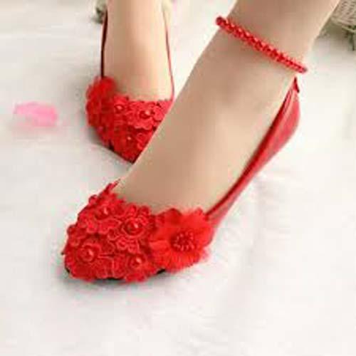 مدل های زیبای کفش پاشنه بلند و اسپورت قرمز (عکس)