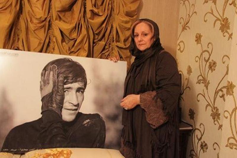 فیلم فحاشی به پرسپولیس در منزل ناصر حجازی و واکنش همسر ناصر حجازی