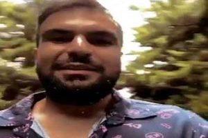 دستگیری فرد توهین کننده به مردم کلاردشت با دستنبند ( عکس)