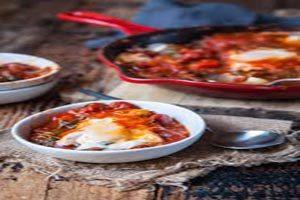 طرز تهیه غذای ارزان و آسان شکشوکه (عکس)