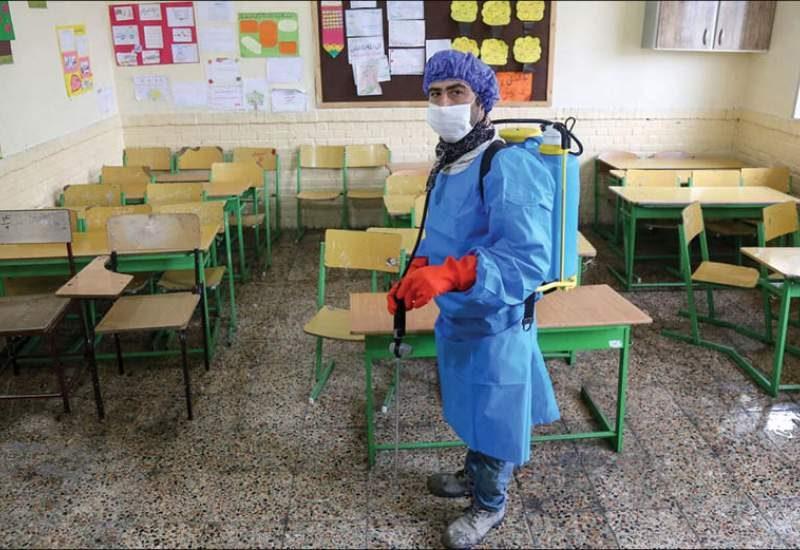 واکنش مردم به بازگشایی مدارس با وجود شیوع کرونا + عکس بازگشایی مدارس