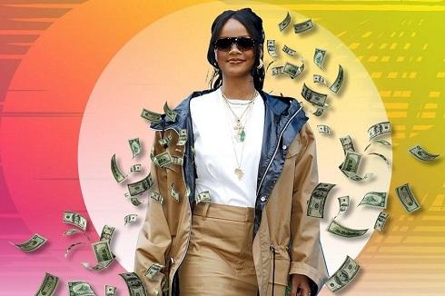 ثروتمندترین خواننده زن جهان معرفی شد (عکس)