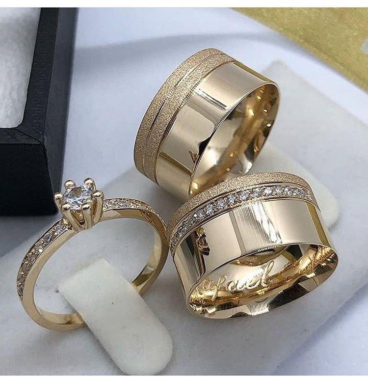 مدلهای جدید حلقه نامزدی عروس و داماد (عکس)