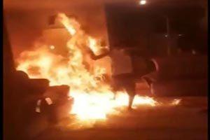 علت آتش کشیده شدن خانه مرد شیرازی لو رفت ( فیلم 16+ )