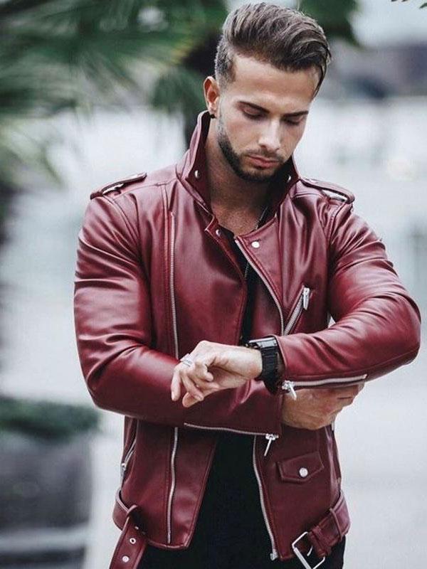 زیباترین مدلهای کاپشن چرمی مردانه ( عکس )