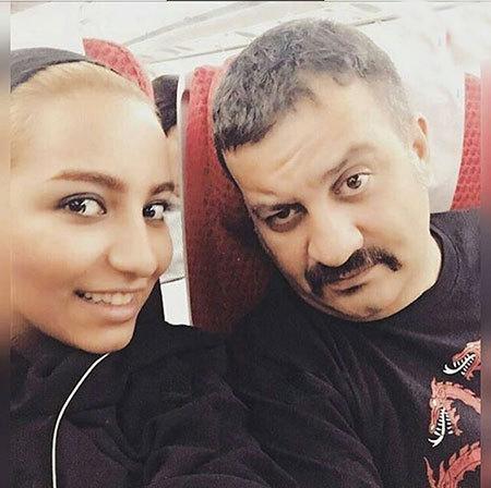 حمله با چاقو و سرقت از دختر مهراب قاسمخانی (عکس لحظه حمله )