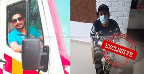 تجاوز راننده آمبولانس به دخترِ کرونایی (عکس )
