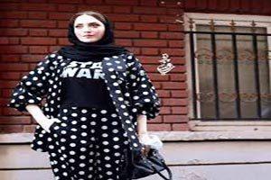 تیپ بهنوش طباطبایی بدون مانتو در خیابانهای مشهد (عکس)