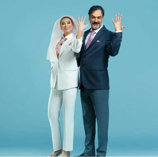 عکس های عجیب عروسی عماد تفتی بازیگر سینما و همسرش