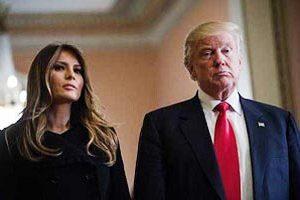 ترامپ و همسرش ملانیا کرونا گرفتند ( عکس )