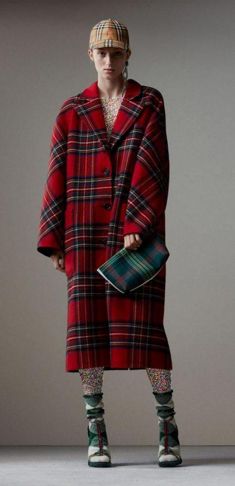 جدیدترین مدل مانتو چهارخونه دخترانه مد امسال