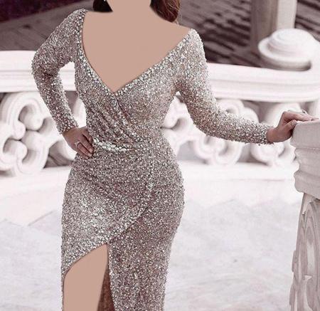شيک ترين لباس هاي شب از جنس لمه