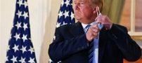 فیلم مرخص شدن ترامپ از بیمارستان و بازگشتش به کاخ سفید