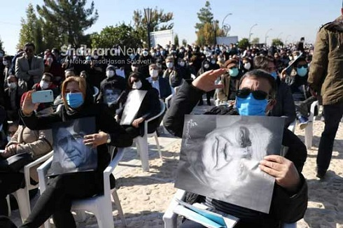 فیلم و عکسهای تشییع استاد محمدرضا شجریان در مشهد